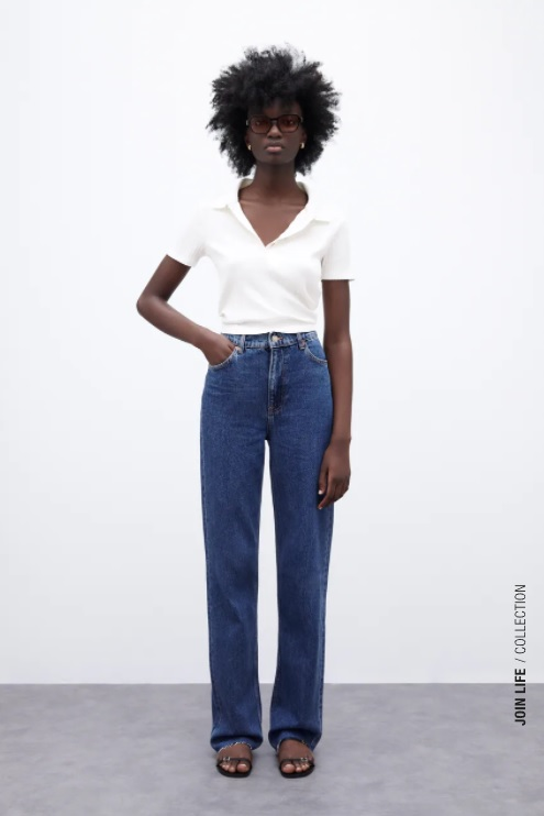 Zara jeans tendance automne 2021
